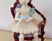OOAK Porcelain BJD Art Doll