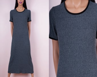 90s Knit Maxi Dress