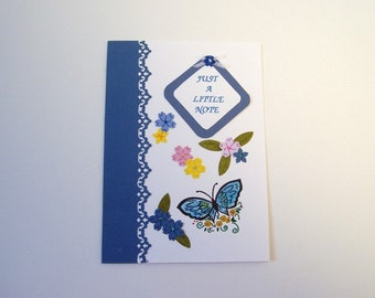 Note card, greeting card, blank note card