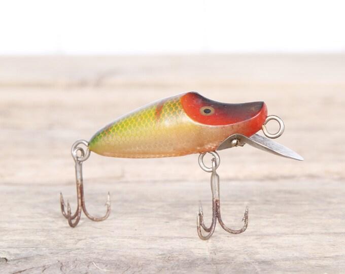 Fishing Lure / Fishing Decor / Vintage Fishing Lure / Antique Fishing Lures / Plastic Lure / Old Fishing Lure / Dad Fishing Lure / Mens Gift
