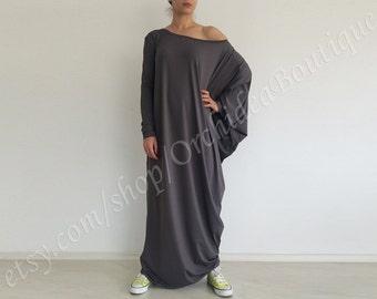 Loose fit maxi dress/ caftan abaya/ maxi caftan dress/ plus size caftan/ loose tunic dress/ oversize dress/ plus size maxi dress SOFIA