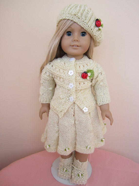 Knitting Patterns For Our Generation Dolls : Knitted dolls clothing....18 inches doll ...american