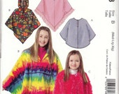 McCall's Girl's Poncho Pattern