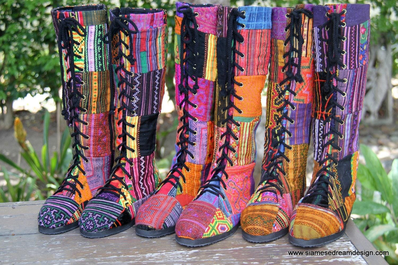 Vintage Boho Boots 30