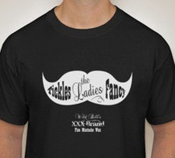 X-Large Wild Bill's Mustache Wax T Shirt