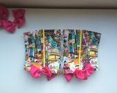 Super Kawaii Avenue Underbust Corset - Satin Ribbon and Handmade Bows - Separating Zipper - Small