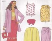 Summer Wardrobe Pattern New Look 6874 Sizes 6 - 16 Uncut