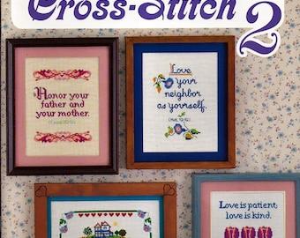 Christian Cross - Stitch 2 Counted Cross Stitch Pattern Book Florence Davis