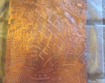 Zentangle Unmounted Rubber Clay Texture Stamp By Deborahread