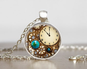 Steampunk Necklace, Steampunk Jewelry