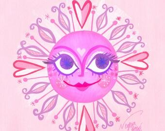 Pink Sunshine, by Neysa Bové