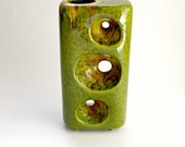 Mid-Century Modernist Sculptural Vase by Bertoncello Italy