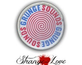 Patch - Grunge Sounds Heat Seal / Iron on Patch