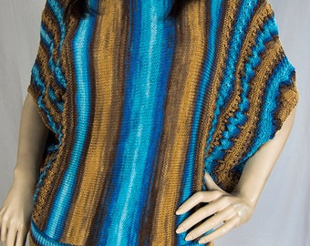 Hand Knitted Cotton Blouse