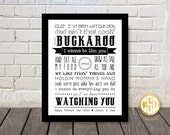 I've Been Watching You - Print - Happy Fathers Day 2015:)
