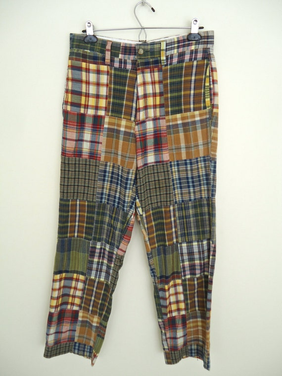 Polo Ralph Lauren Madras Pants / patchwork plaid by CompanyMan