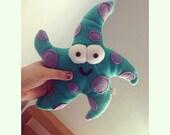 Handmade Sasha the Starfish Plush ( Choose your own Colors!! )