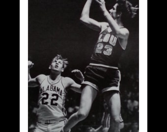 Pistol Pete Maravich Lot (3) Mag Photos Pete Maravich LSU Louisiana 1969. NBA Star. THESE are Life Magazine photos, not printed photos 13x10