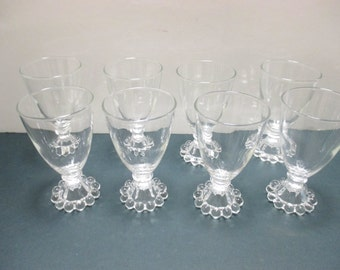 Boopie Anchor Hocking Berwick Glassware Juice Wine  Glasses - Set of 4 (4 sets available)