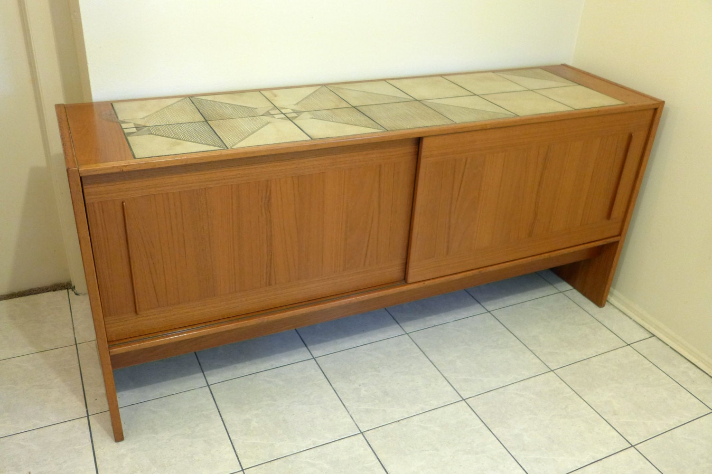 Danish Buffet Credenza : Danish design teak sideboard credenza kommode schrank vintage