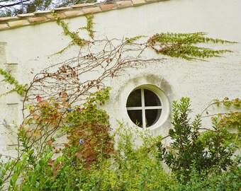 Beautiful Benvengudo, France Photography, Window Photography, Travel Photography, Art Print, Wall Decor