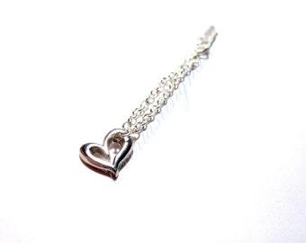valentine's day, Heart phone plug, heart phone strap, heart key chain, silver plated phone strap, dust plug, cute phone charm