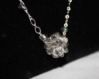 Swarovski Cluster Necklace