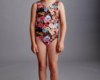 DONUT: Girls tank swimsuit