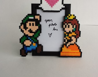 Luigi and Daisy Picture Frame - Couples Picture Frame