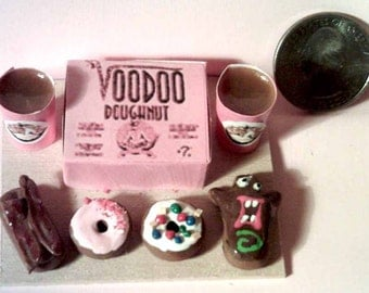 Barbie Sized Voodoo Donuts Menu Board