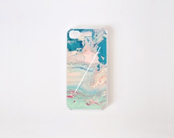 iPhone 4/4s Case - Paradise Marble iPhone Case - iPhone 4s case - iPhone 4 case - Hard Plastic or Rubber