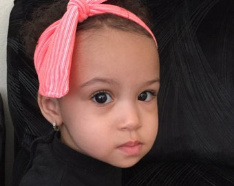 Infant Knotted Headband