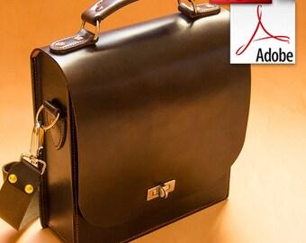 Build Along Leather Pattern 4: Messenger Bag