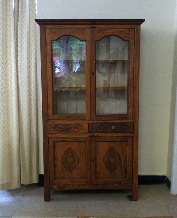 Sale Pending Late 1800 S Antique Oak Pie Safe By Shabadashery
