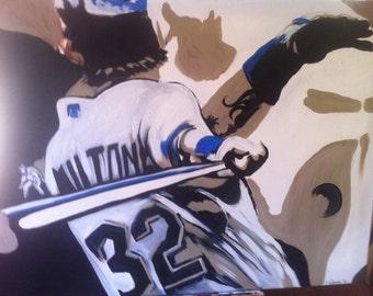 Baseball Painted Canvas!