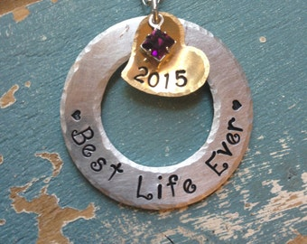Best Life Ever Necklace