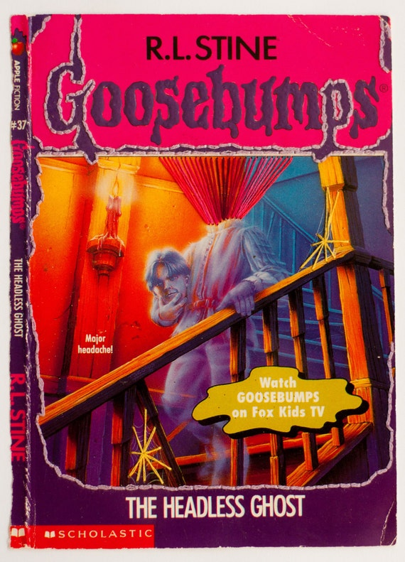 Embroidered Book Cover - Goosebumps: The Headless Ghost