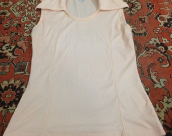 Vintage Women's Miss Holly Sleeveless Top Size Medium