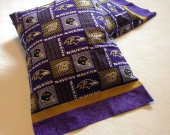 Baltimore Ravens Pair of Standard Pillowcases