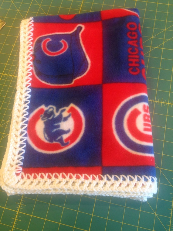 Chicago Cubs Fleece Baby Blanket