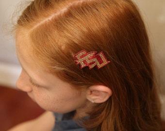 Small FSU Hair Clip
