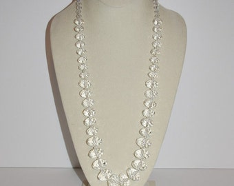 Joan Rivers Crystal Necklace - 30 Inches - T296  S1983