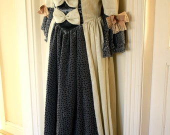 18th century inspired period costume dress