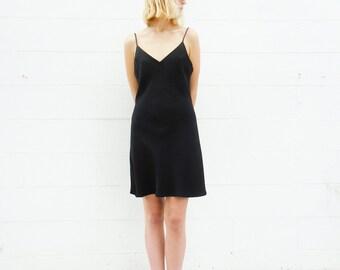 90s fredericks of hollywood black mini dress