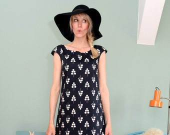 "A line dress ""PIPPA"" black"