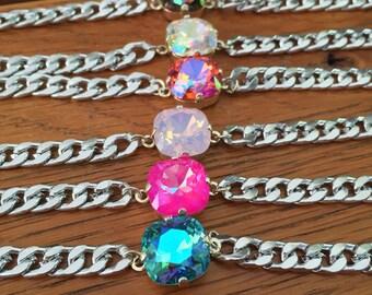 Dainty Swarovski Bracelet