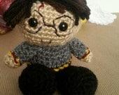 Harry Potter Crochet Amigurumi Pocket Hero Doll Toy