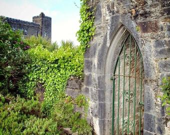 A Magical Door at Ashford Castle, Cong, Ireland, Spring, Photography
