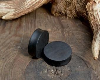 "33 mm ear plugs, 1"" 5/16 ear plugs, 1"" 3/8 ear plugs, ebony ear plugs, huge ear plugs, 1"" 3/8 ebony ear plugs, black ear plugs, ebony plugs"