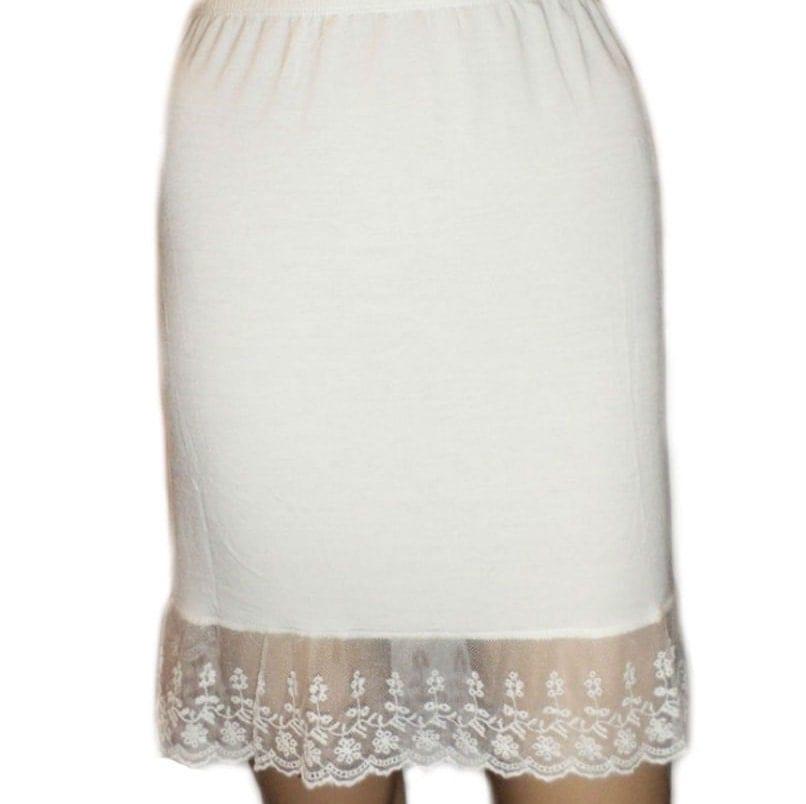 Galerry slip dress modal lace